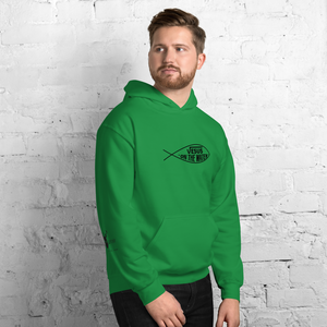 Jesus on The Water - Mark 6:48 - Hoodie