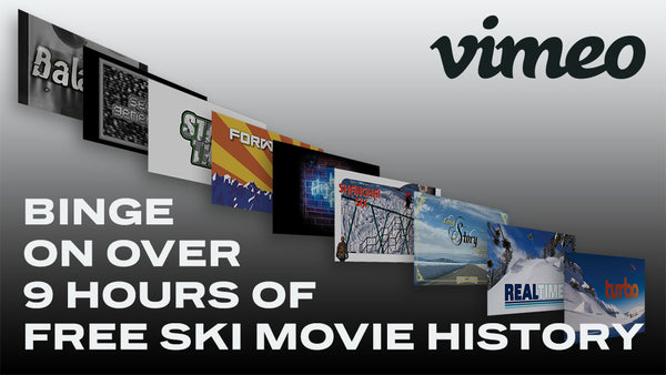 Binge on over 9 Hours of Ski Movie History