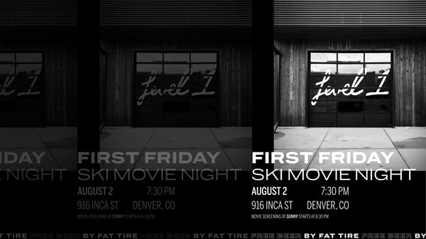 First Friday Ski Movie Night