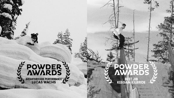 Lucas Wachs and Keegan Kilbride take home Powder Awards