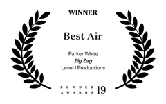 Level 1 Parker White Best Air Powder Awards