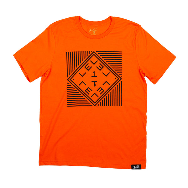 Level 1 Palindrome Logo Shirt Orange