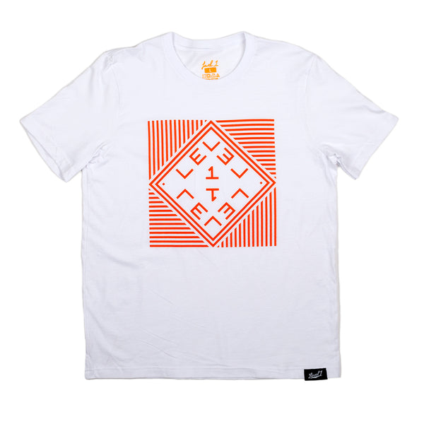 Level 1 Palindrome Logo Shirt White