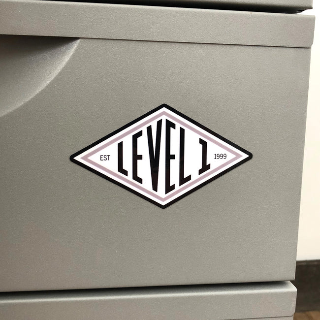 Diamond Logo Stickers (2)