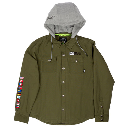 Level 1 × Saga Performance Anorak