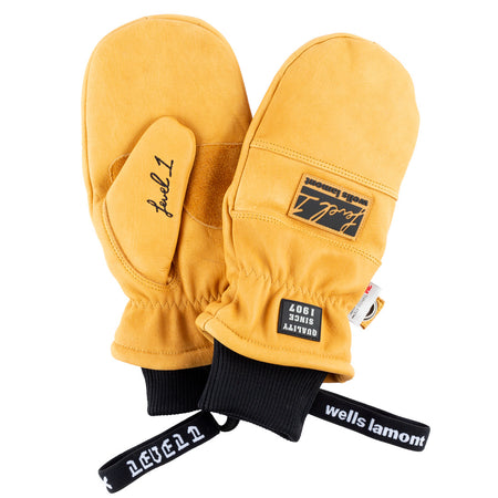 Wells Lamont Saddle Tan Mittens