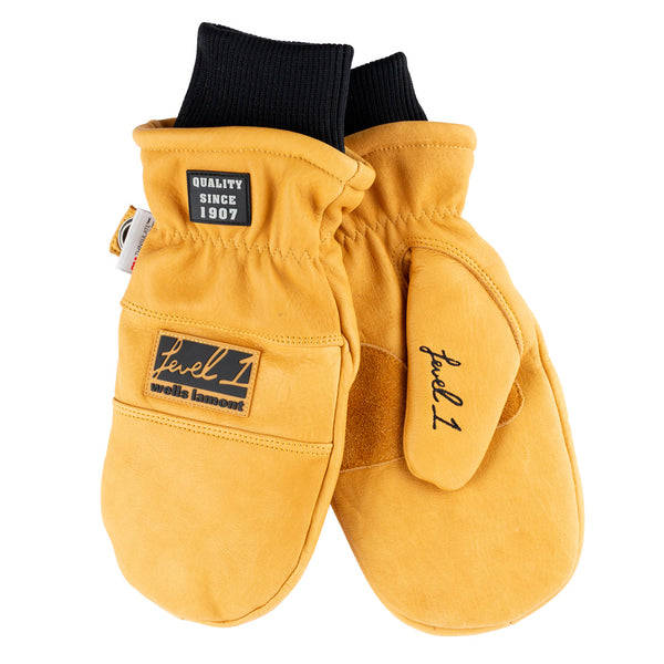 Level 1 × Wells Lamont Whiskey Tan Mittens