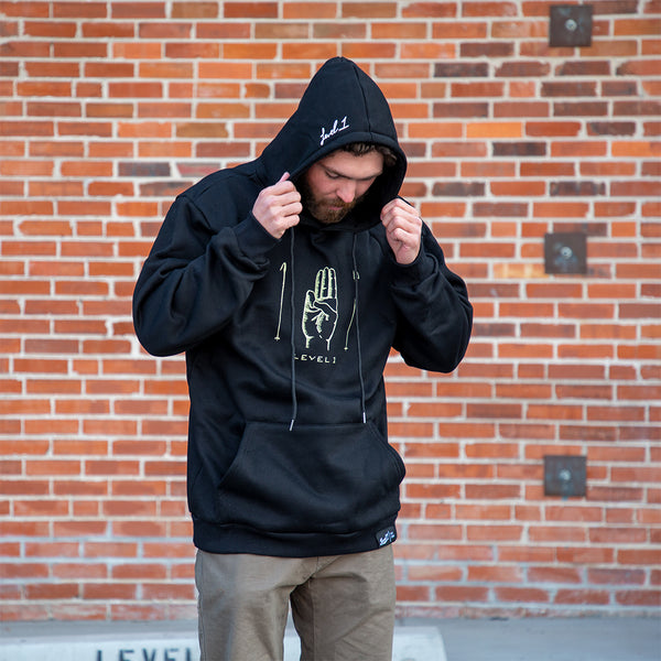 Level 1 Scouts Honor Hoodie Black