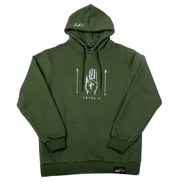 Level 1 Scouts Honor Hoodie Rifle Green