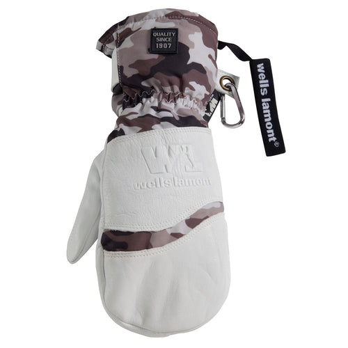 Wells Lamont HydraHyde White Camo Mittens