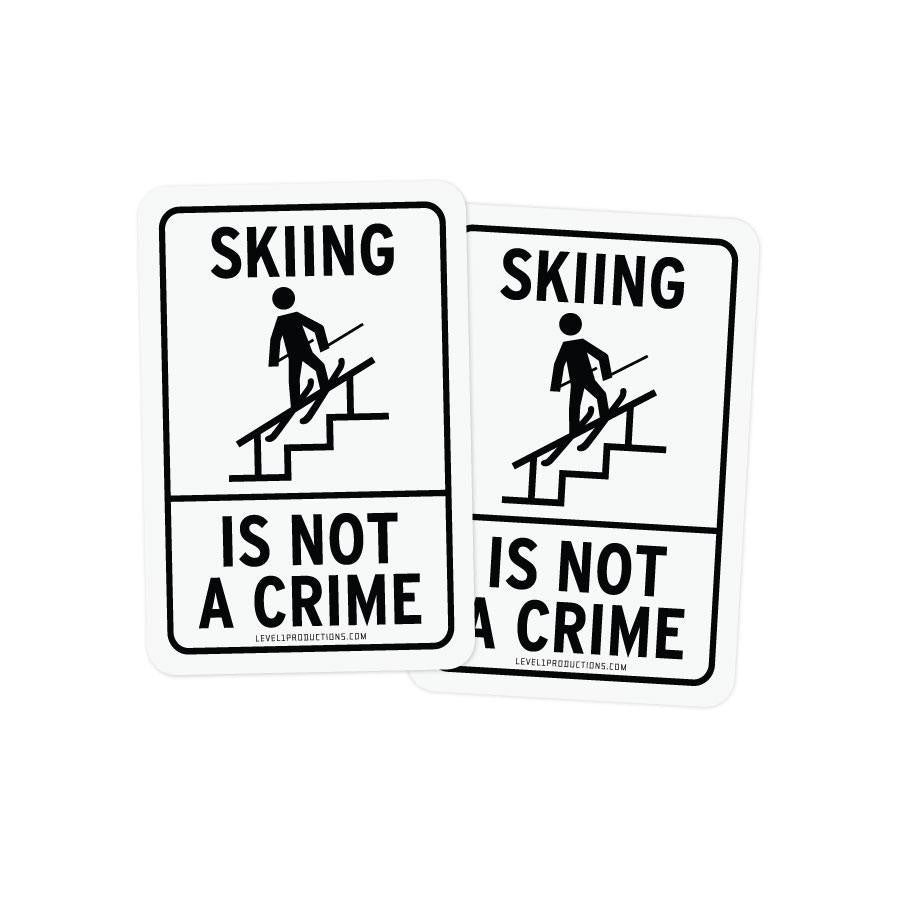 Crime Sticker