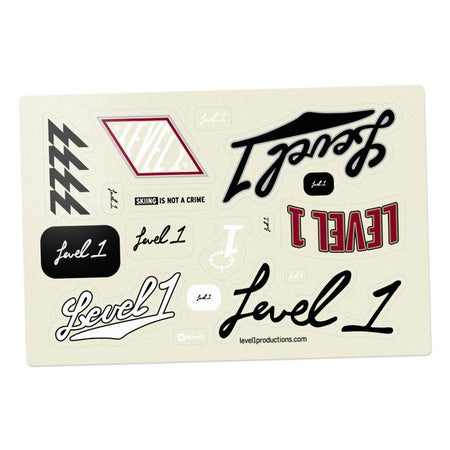 "9"" Script Die Cut Sticker"