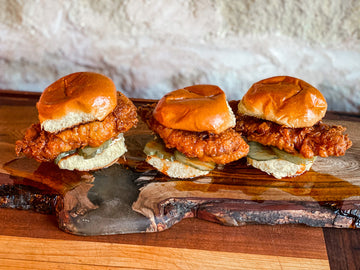 Spicy Pheasant Sliders