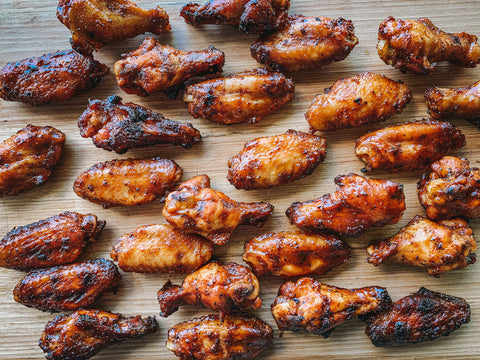 Bourbon BBQ Chicken Wings