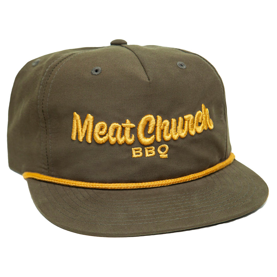 River Hat - Green\Gold