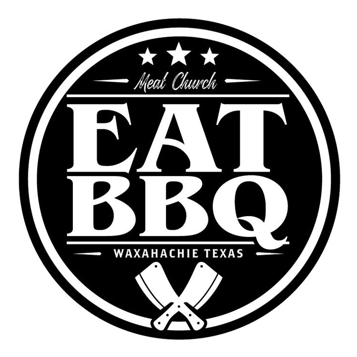 EAT BBQ Sticker
