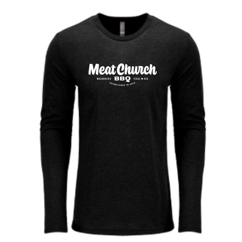 Meat Church Badge Long-sleeve T-Shirt