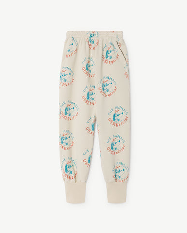 [TAO] SS18 PANTHER KIDS PANTS Portugal RAW WHITE DOGS