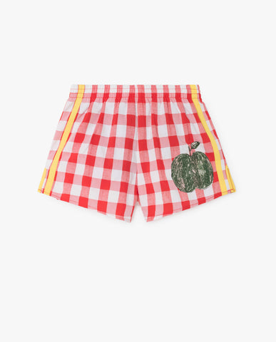 [TAO] SS18 SPIDER KIDS SHORTS Portugal RED APPLE