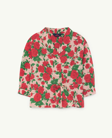 The Animals Observatory TAO Marmot Shirt - Nude Roses