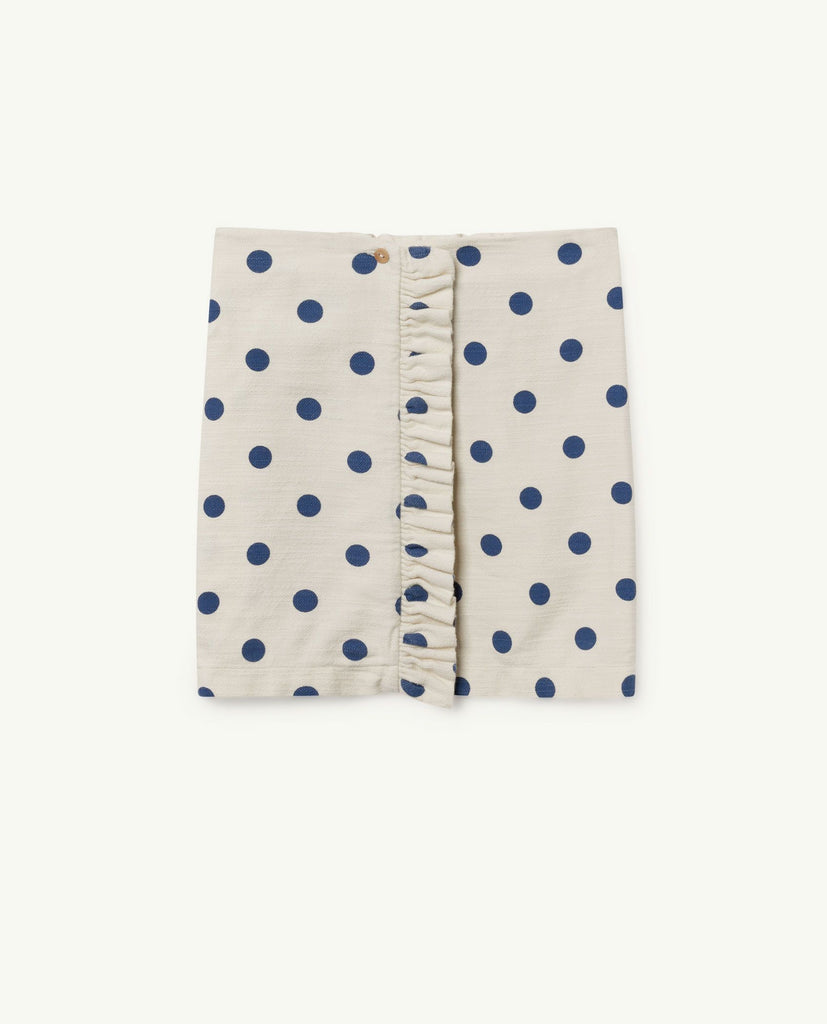 The Animals Observatory TAO Cat Skirt - White Polka Dots