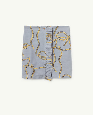 The Animals Observatory TAO Cat Skirt - Blue Ropes