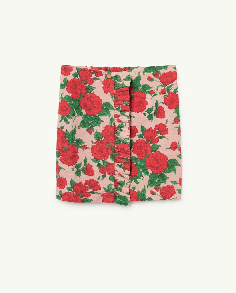 The Animals Observatory TAO Cat Skirt - Nude Roses