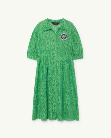The Animals Observatory TAO Dolphin Dress - ELECTRIC GREEN