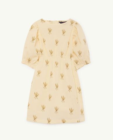 The Animals Observatory TAO Swallow Dress - Yellow