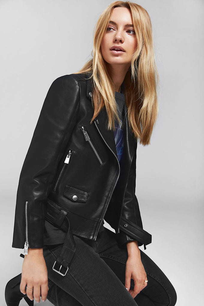 Anine Bing JETT LEATHER JACKET