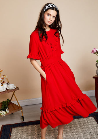 Sister Jane Rose Garden Midi Dress