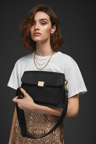 Anine Bing FELIX BAG IN BLACK