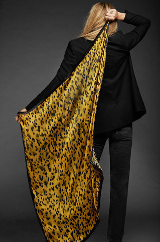 Anine Bing JAYCE SCARF IN GOLDEN LEO