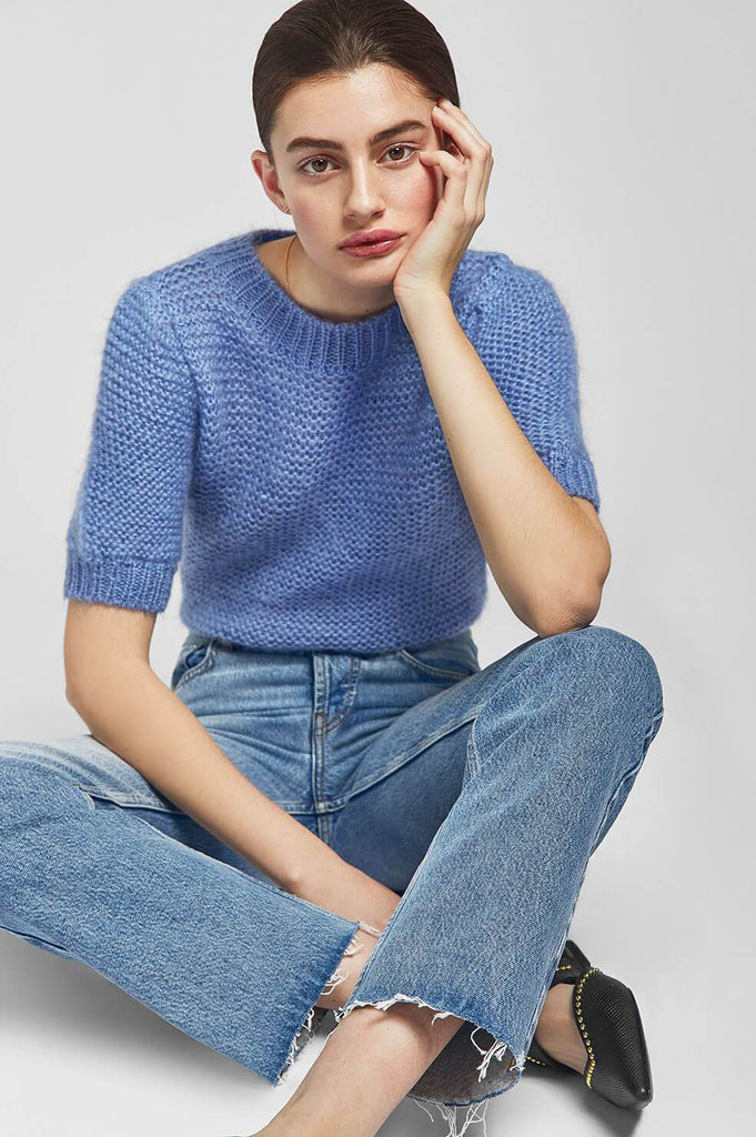 Anine Bing NICOLETTE SWEATER IN BLUE