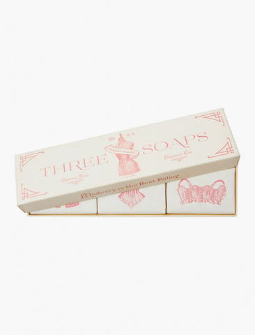 [IZOLA] Powder Room Soap Set -  3 Soaps