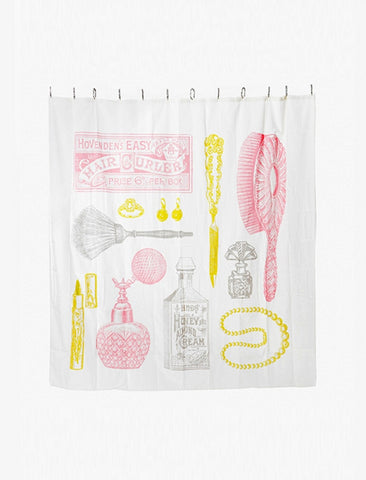 [IZOLA] Powder Room Shower Curtain