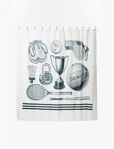 [IZOLA] Sport Canvas Shower Curtain