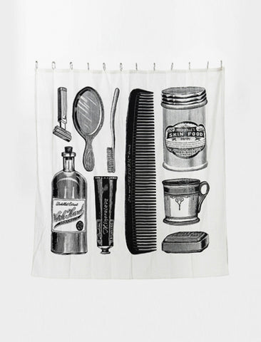 [IZOLA] Apothecary Shower Curtain