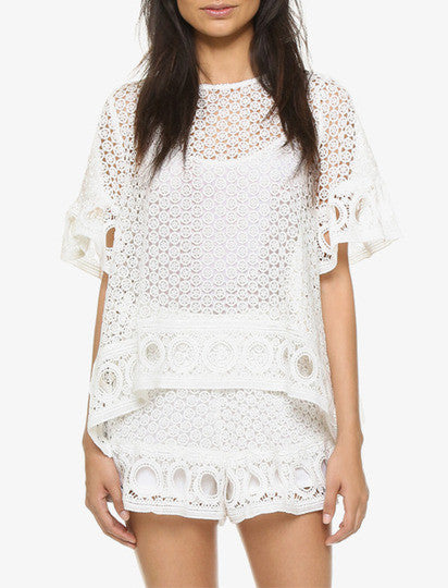 English Factory Eyelet Top/Bottom
