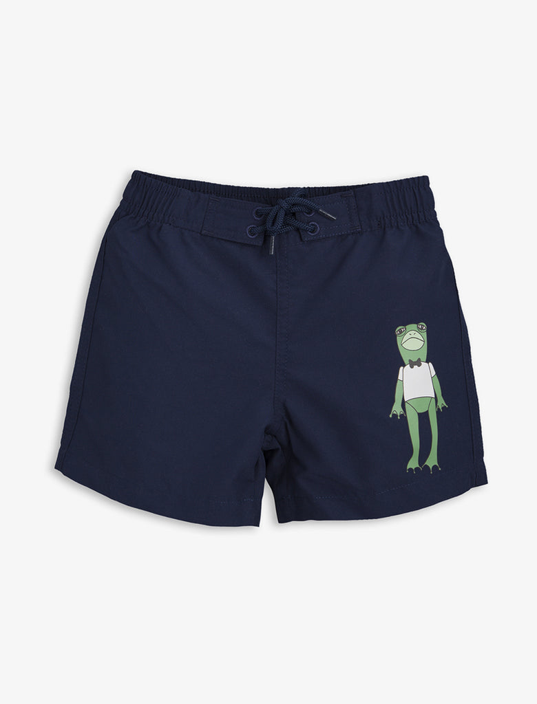 Mini Rodini Frog Shorts -Blue