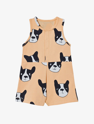 Tiny Cottons  Moujik Sleeveless Baby One Piece