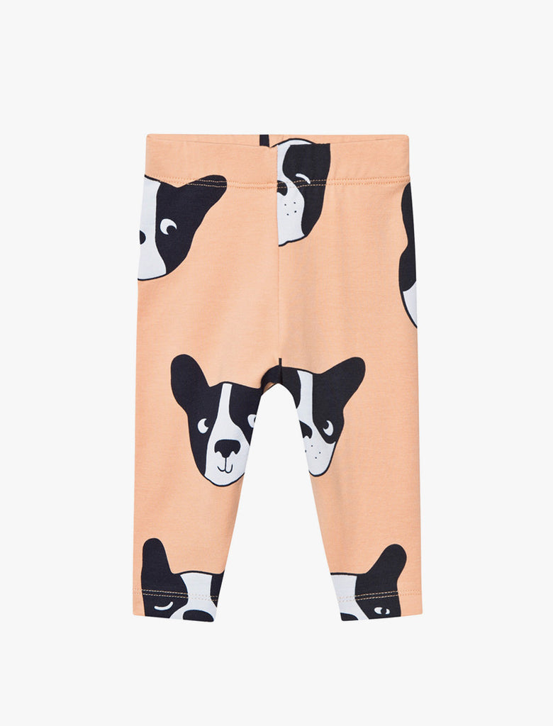 Tiny Cottons Moujik Face Pants - Nude