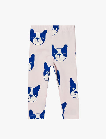 Tiny Cottons Moujik Face Pants - Pink