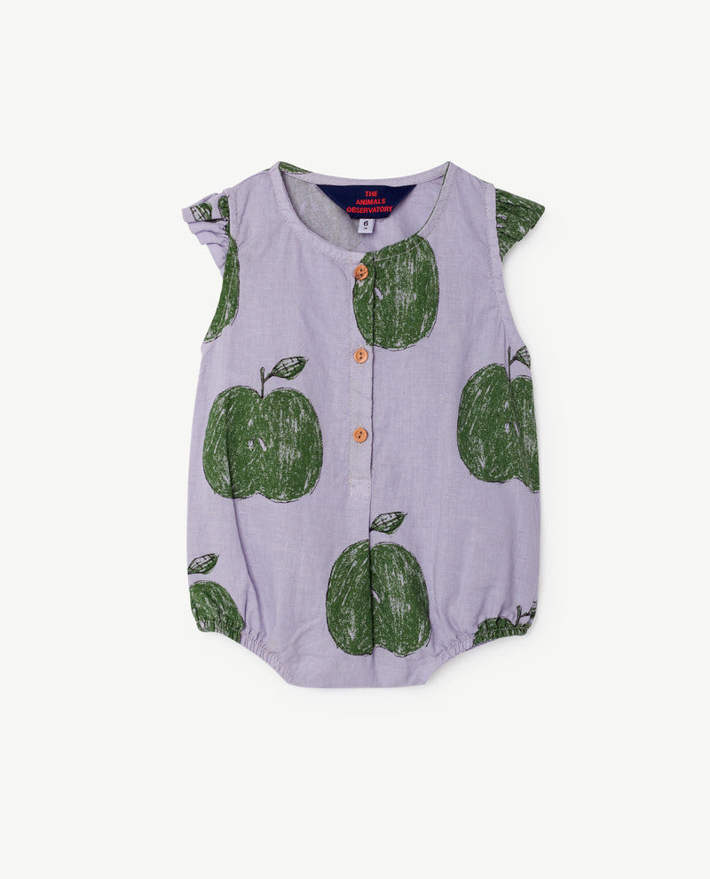 [TAO] SS18 BUTTERFLY BABIES SUIT Spain LAVAND APPLES