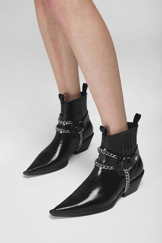 Anine Bing HARRIS BOOTS IN BLACK