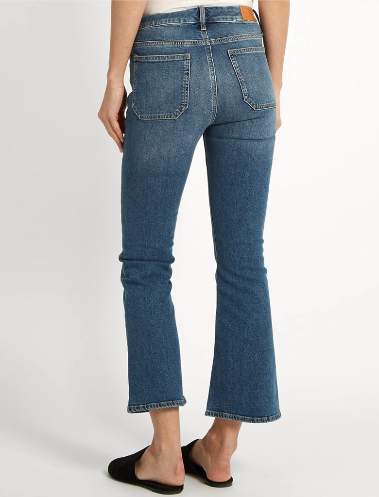 Marty Cropped High-rise Flared Jeans - Mid denim Mih Jeans Browse Sale Online Clearance Store Sale Online Footlocker Pictures Online q93OEdSgM3