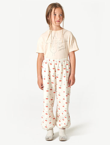 The Animals Observatory Dromedary Cherries Cotton Pants