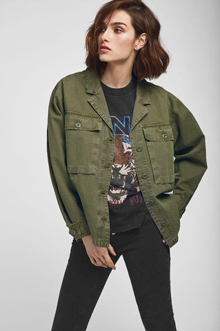 Anine Bing SAWYER MILITARY SHIRT