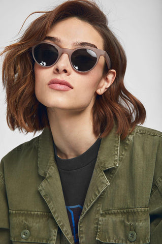 Anine Bing MONTEREY SUNGLASSES IN BROWN