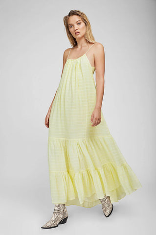 Anine Bing SCARLETT DRESS IN LIGHT YELLOW